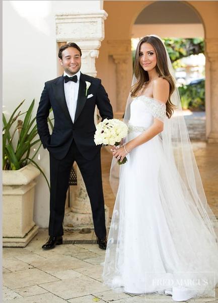 Arielle Charnas Wedding : arielle, charnas, wedding, Photo, Arielle, Nachmani, Wedding, Dresses,, Hairstyles,