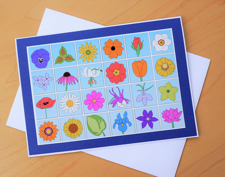 Flower card 5x7 floral greeting card flowers birthday card flower card 5x7 floral greeting card flowers birthday card colorful bouquet greeting card izmirmasajfo