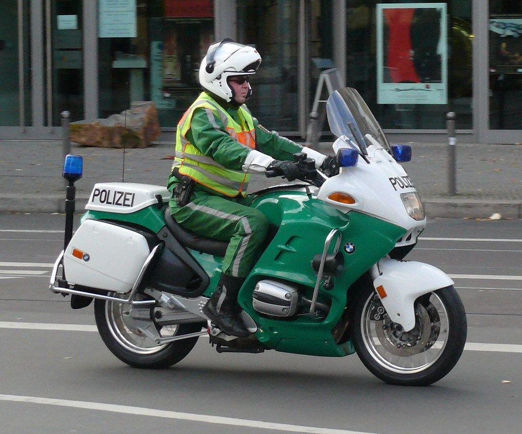 Police Motorcycle Polizei deutschland, Polizei, Deutschland