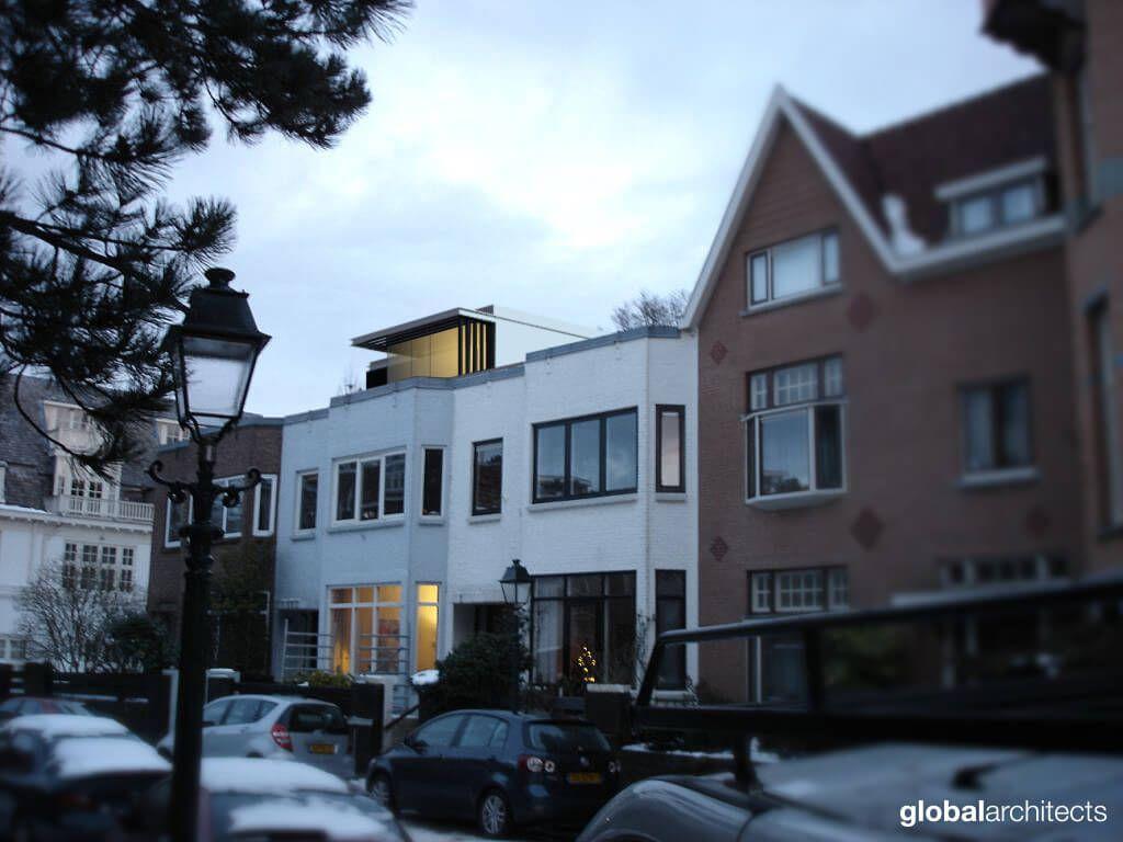 Architectenbureau Den Haag : Dakopbouw global architects architectenbureau den haag dakopbouw
