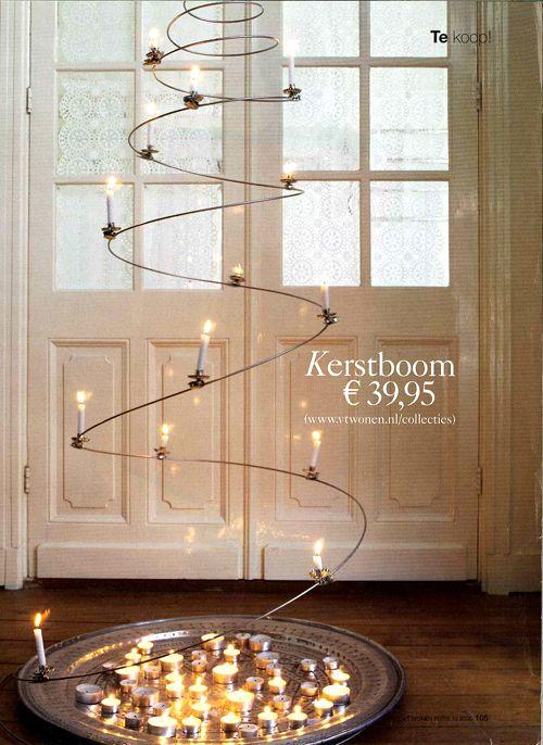 Decoraci n navide a de estilo n rdico minimalista moderna navidad - Decoracion navidena minimalista ...