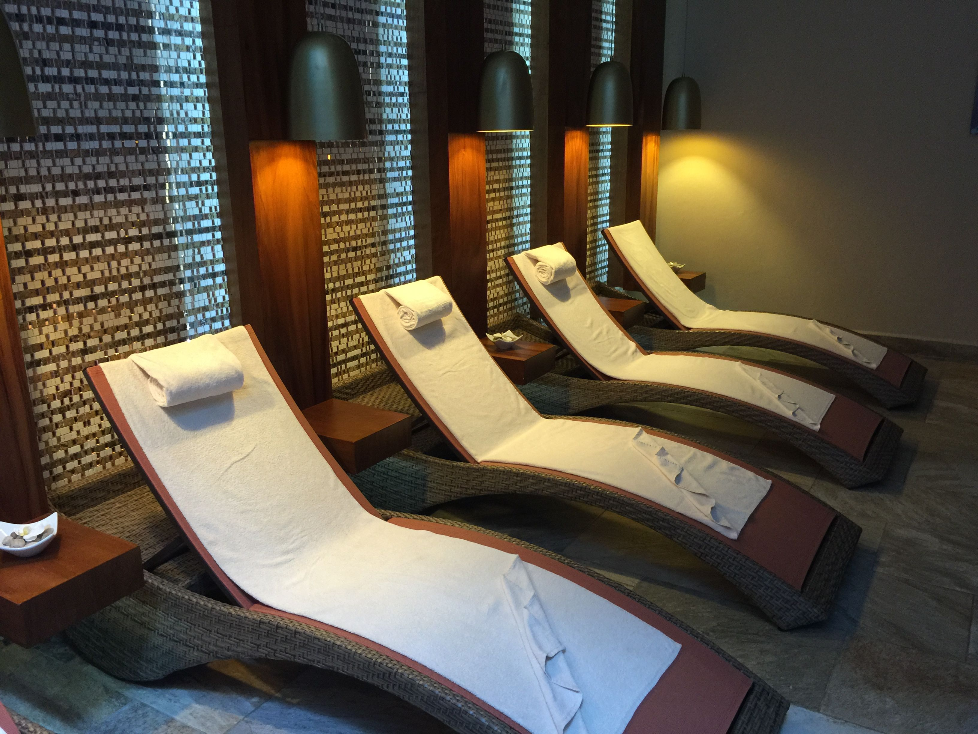spa lounge chairs playacar palace pinterest palace and spa