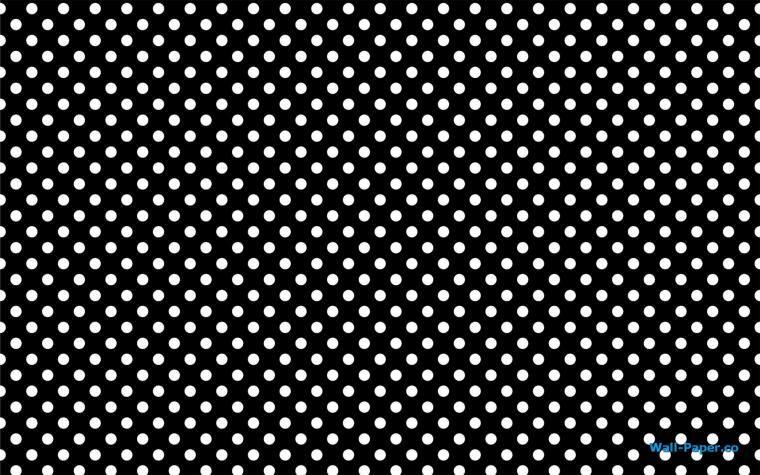 gold polka dot desktop wallpaper white dots on black