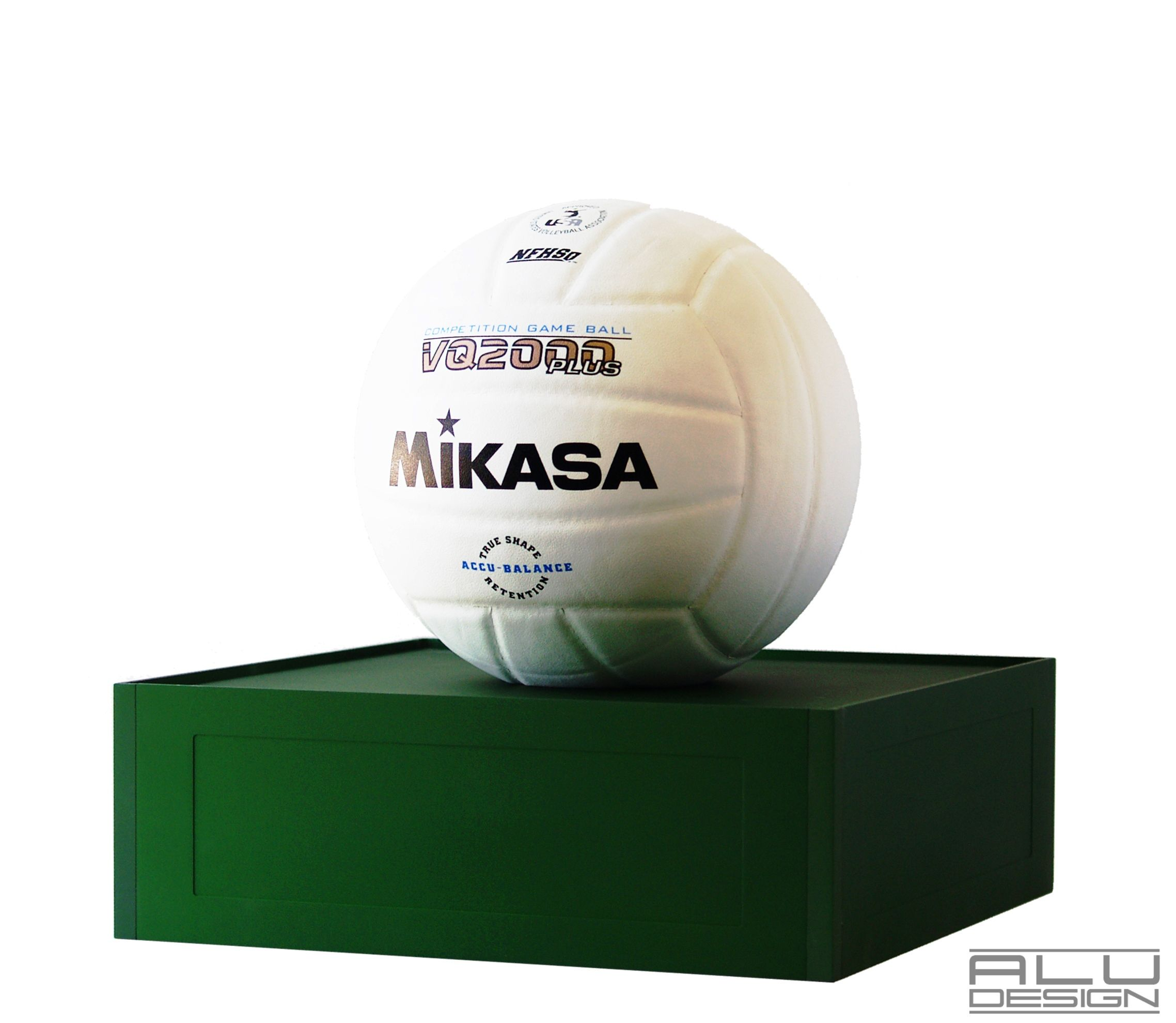 Volleyball Display Case Without Cover Cnc Machined Anodized Aluminum Green Available In Various Colors We Can Add You Display Case Laser Engraving Cnc Machine