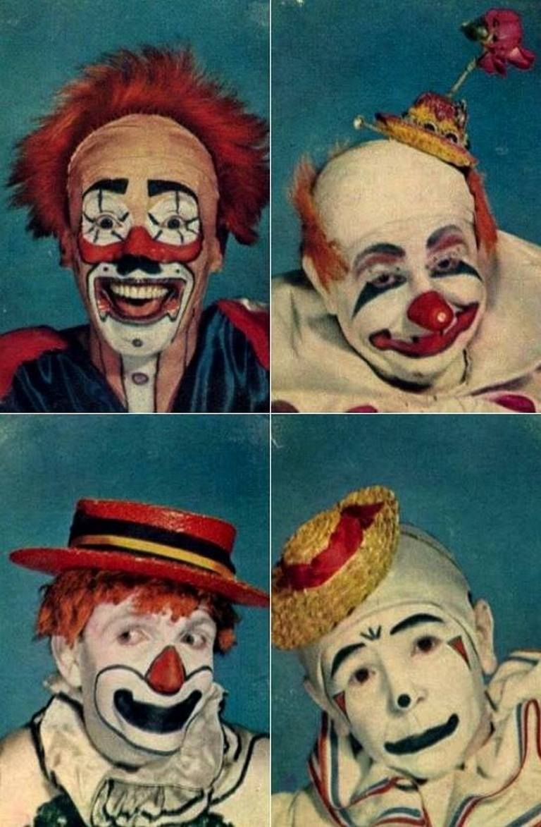 99 awesome vintage clown makeup ideas clown paintings
