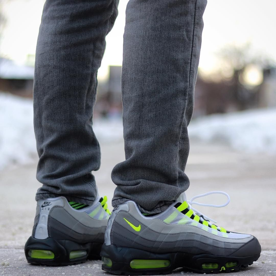Air Max 95 Og Neon With Images Air Max 95 Air Max Sneakers