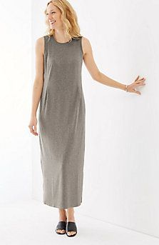 50d6e6191fbe Wearever sleeveless maxi dress | J JILL Fashions I love! | Fashion ...
