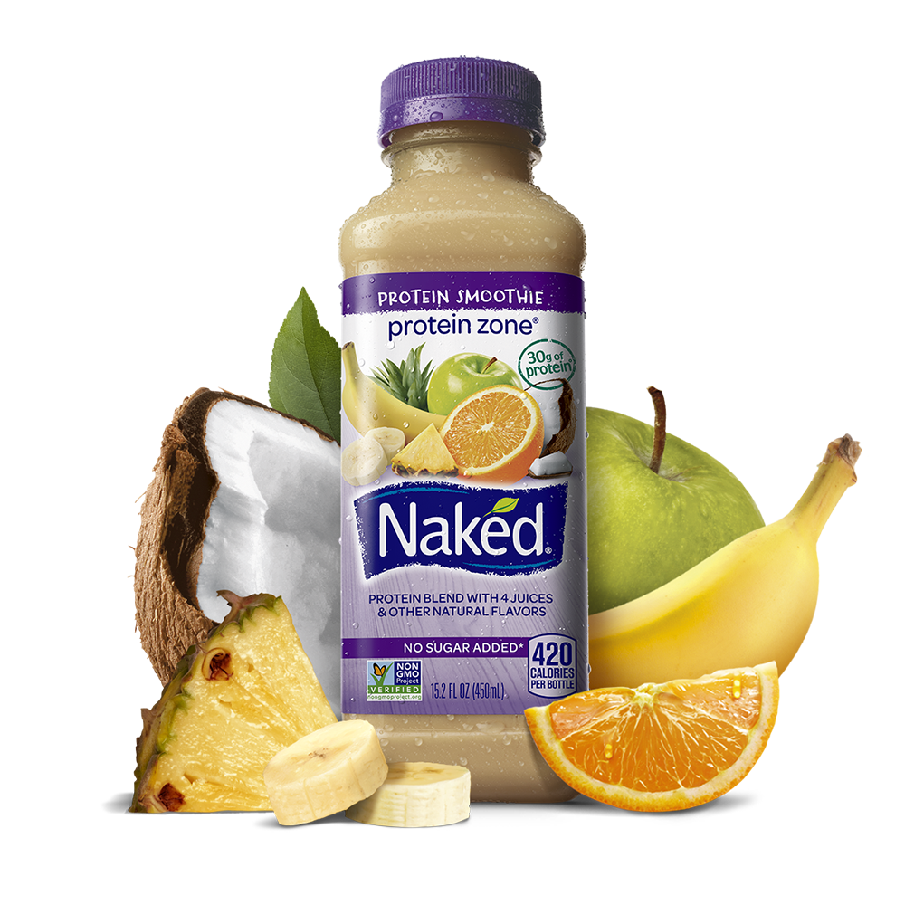 Naked 100% Juice Smoothie Red Machine 15.2oz BTL | Garden