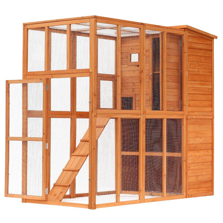 Cat Cage Wood