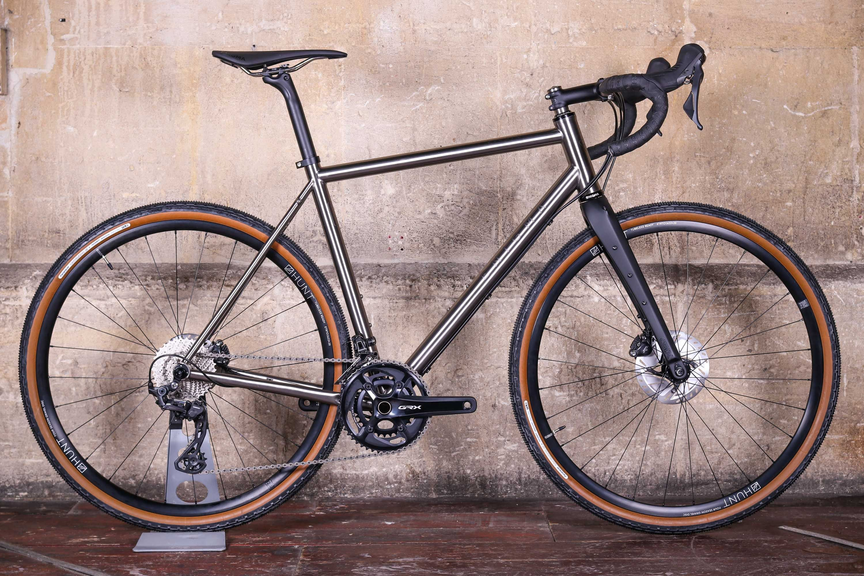 Just In Enigma Escape Updated Titanium Gravel Bike Arrives For