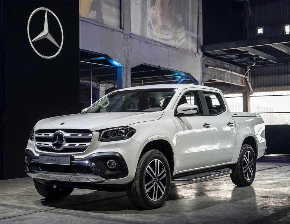 Mercedes-Benz X-Class 2019 the first pick-up from ...