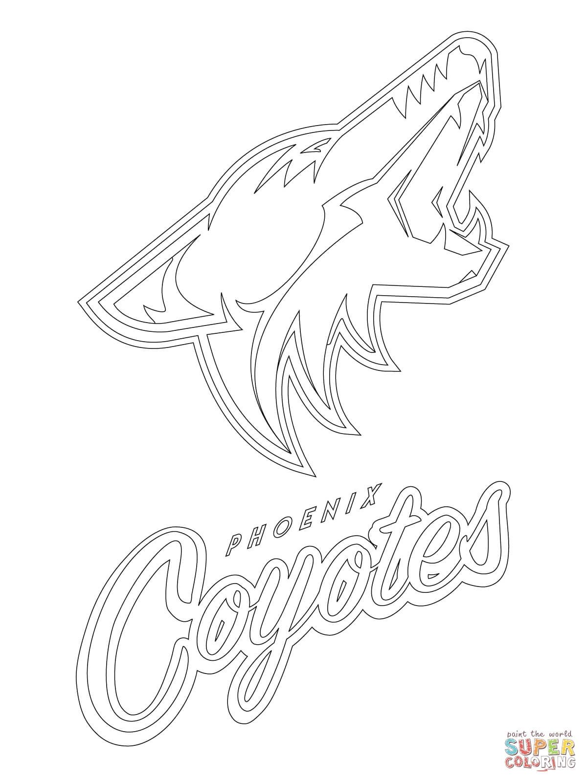 Coyote Coloring Pages Download