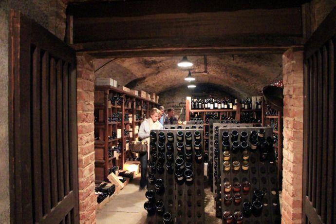 Wine cellar in Piemonte