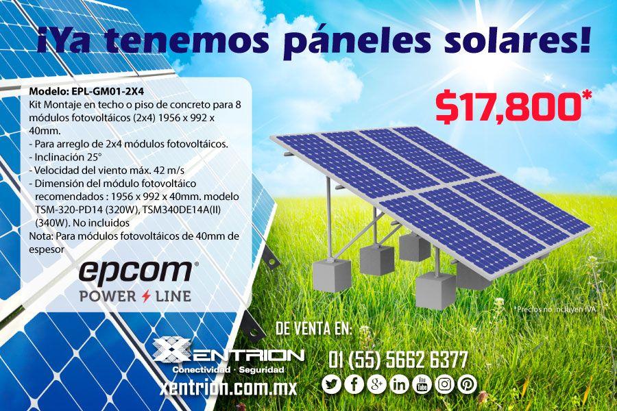 Empezamos La Semana Con Grandes Novedades Ya Tenemos Paneles Solares De Varios Modelos Contactanos Epcom Powerline Panelsola Paneles Solares Panel Modelos