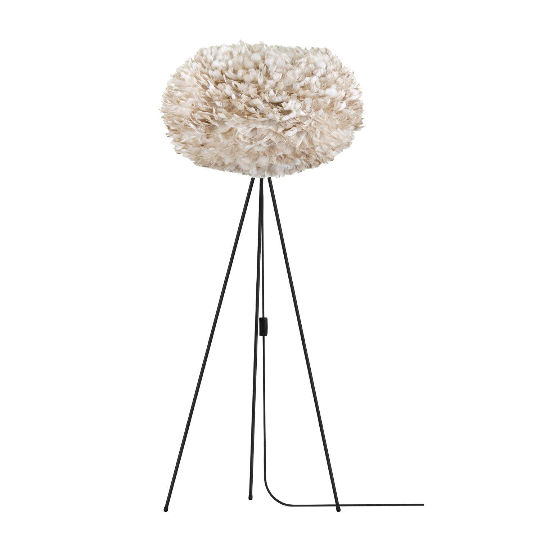 Vita lampunjalka lattia, musta ryhmässä Valaistus / Valaisimet @ ROOM21.fi (1023561)