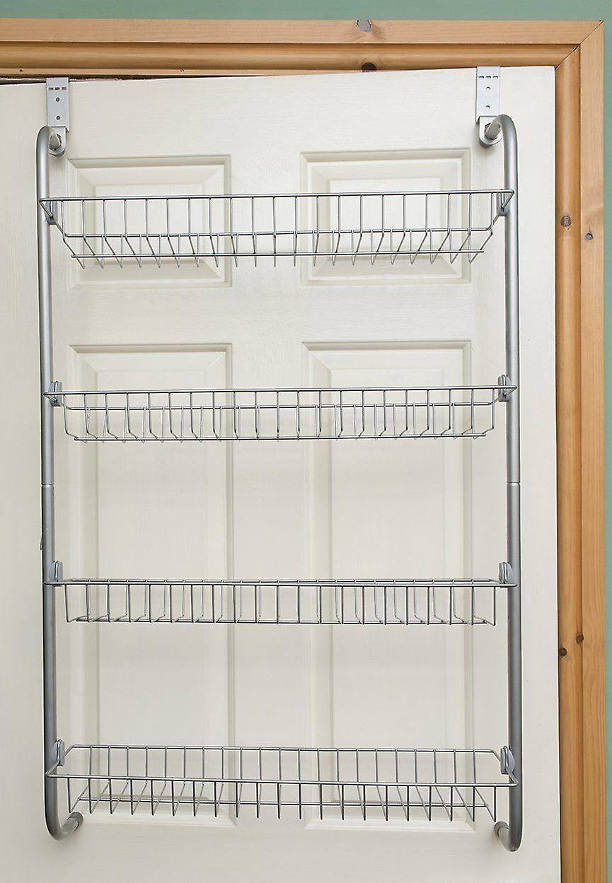 4 tier over door hanging rack shelves