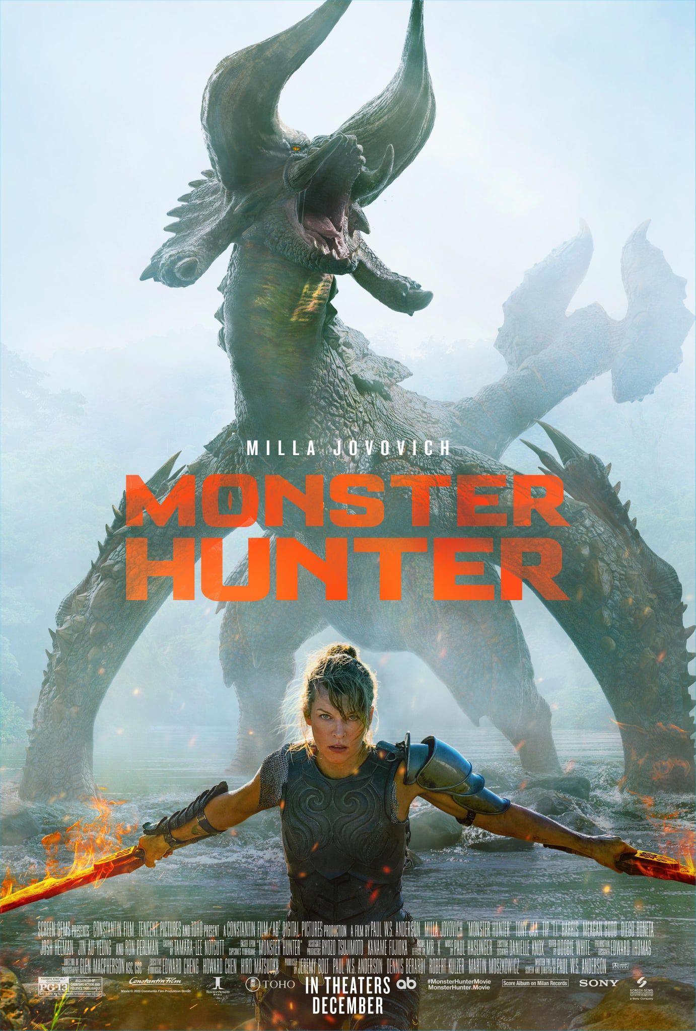 Y Ahora Si Monster Hunter Lanza Trailer Completo De Su Llegada Al Cine Hunter Movie Monster Hunter Movie Milla Jovovich