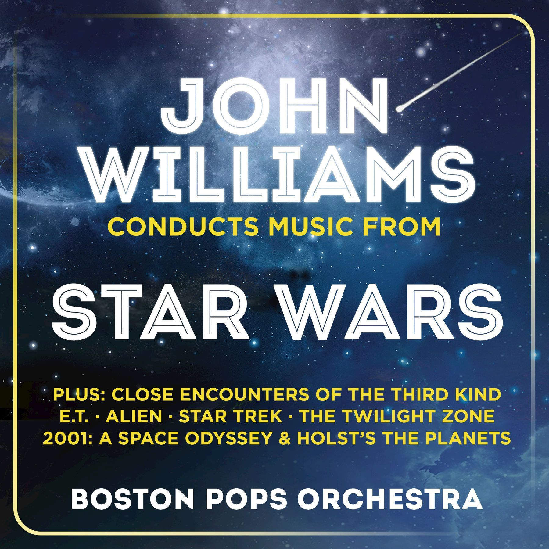 John Williams Conducts Music from Star wars by John Williams with the Boston Pops Orchestra