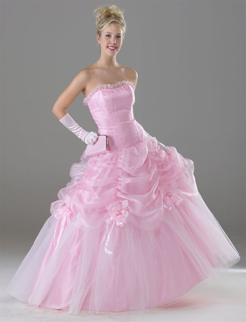 78 Best images about Elegant Pink Wedding Gowns on Pinterest ...