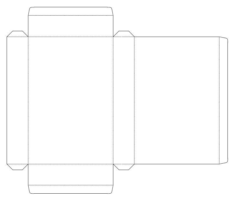 Custom Box Generator Box Template Maker Custom Boxes Card Sketches Templates