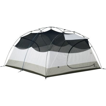 Zia 4 Tent with Footprint and Gear Loft