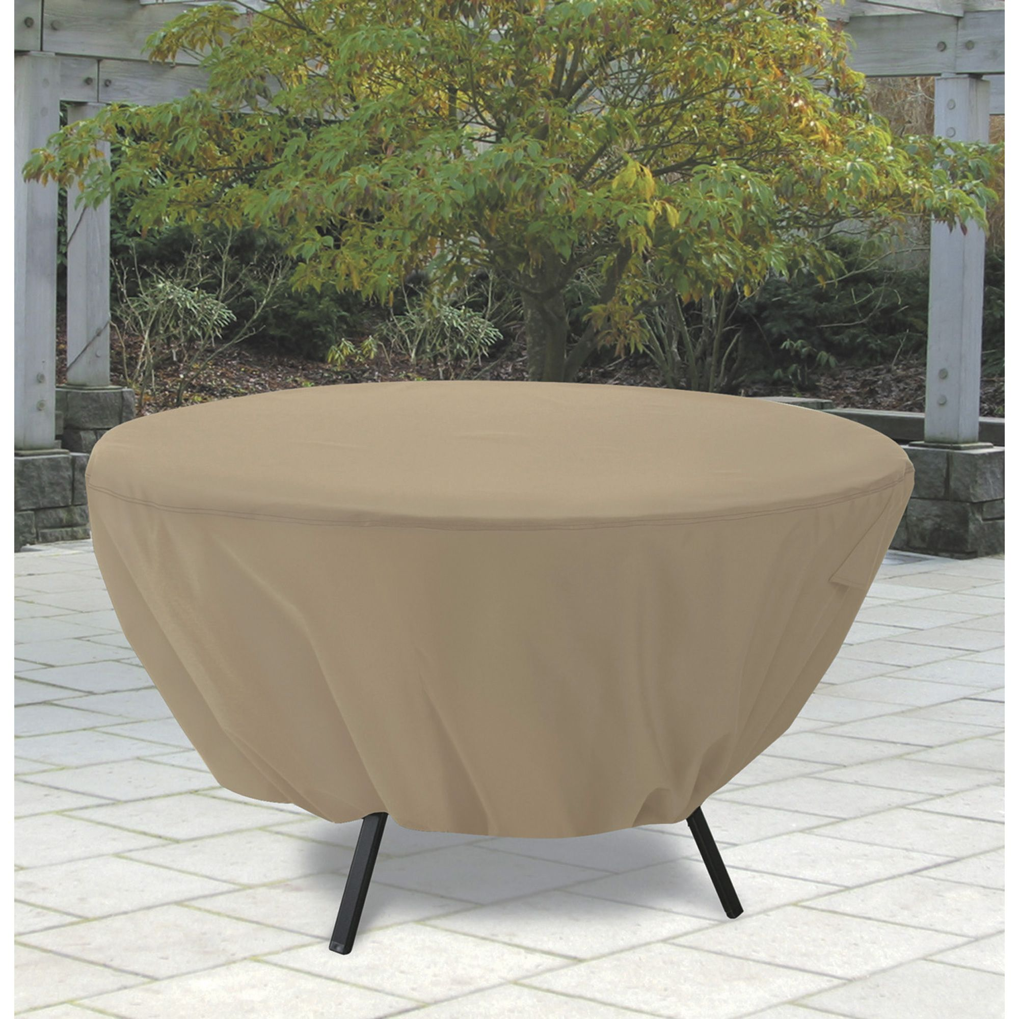 Classic Accessories Round Patio Table Cover Outdoor