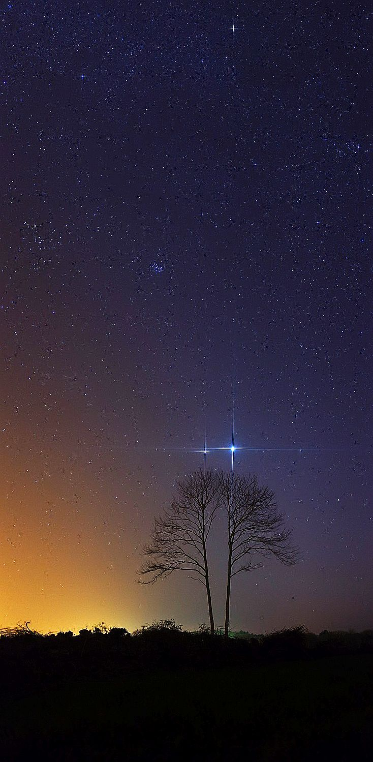 Jupiter and Venus - BEAUTIFUL!   Our Beautiful Home: The Earth