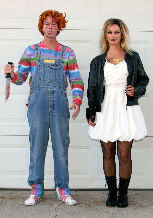 chucky and tiffany halloweeeeenie and fall halloween halloween
