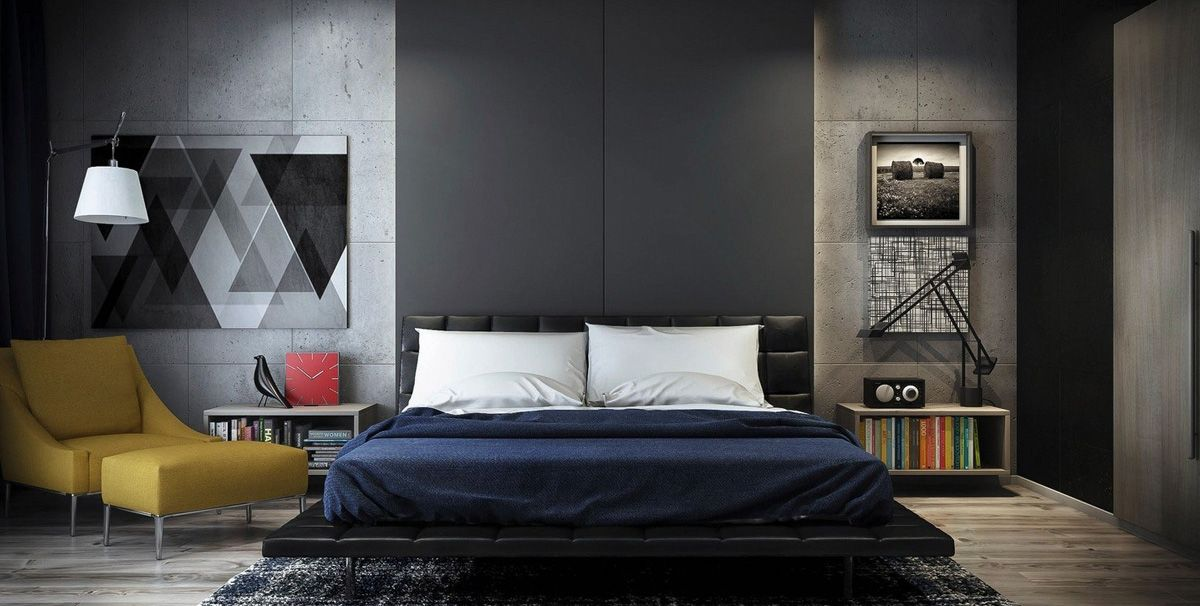 5 ideas de decoracion para hombres home design for Decoracion dormitorios chicos
