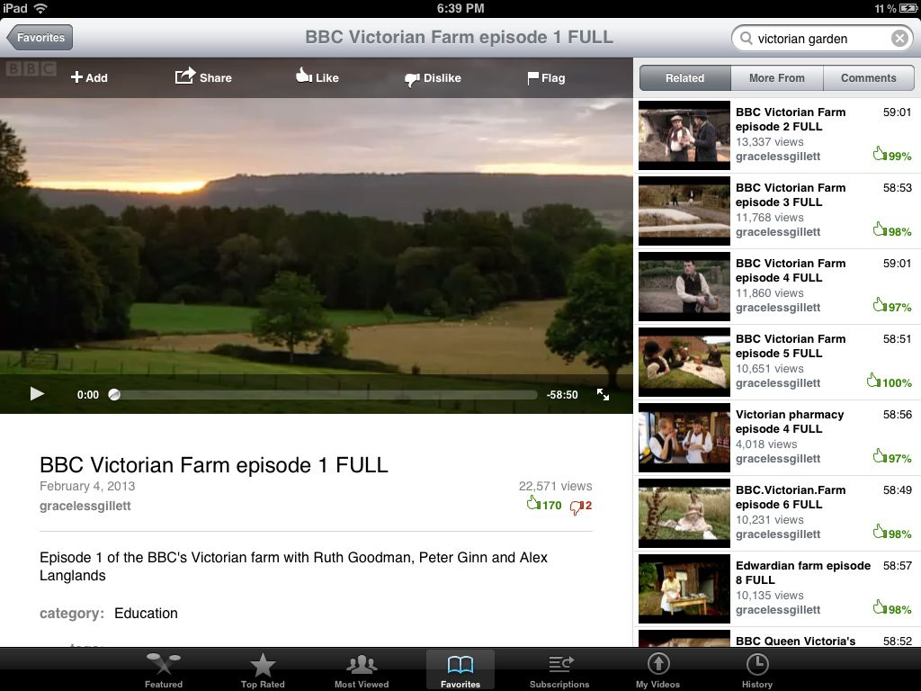 bbc victorian farm: http://www.youtube.com/watch?v=8eaQr7JJ1ms=youtube_gdata_player