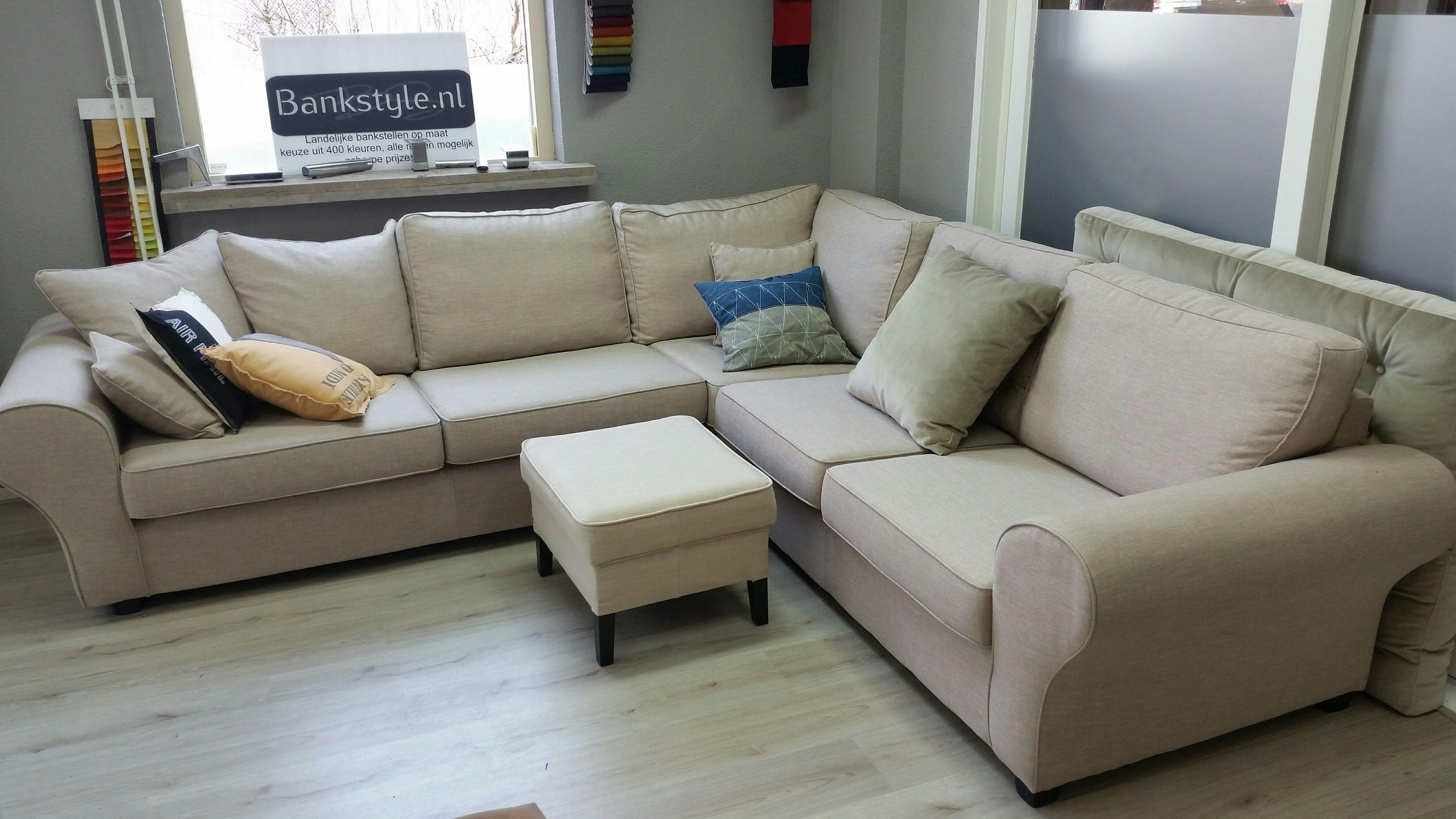 onze landelijke hoekbank barbara past perfect bij de riviera maison stijl u kunt ons vragen. Black Bedroom Furniture Sets. Home Design Ideas