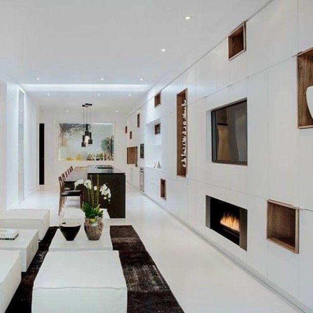 Atractivo dise o interior marcado pir un mobiliario - Disenador de interiores madrid ...