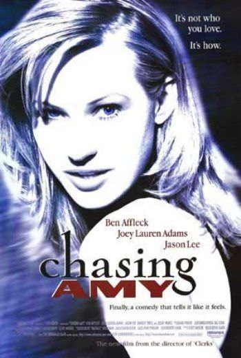Not sure why, but I love this poster:  CHASING AMY - 1997 - orig D/S 27x40 movie poster- BEN AFFLECK, JOEY LAUREN ADAMS
