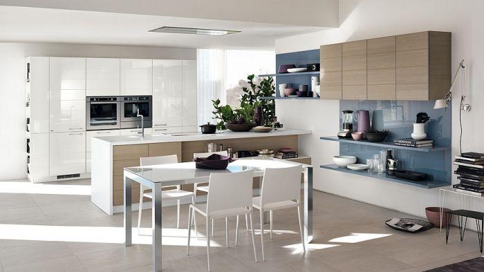 #Küche Moderne Küchen Und Modularer Wohnbereich Von Scavolini #Moderne #  Küchen #und #