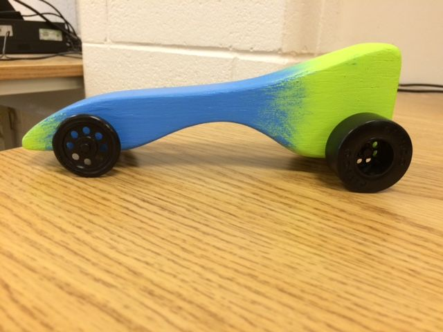 Side View Car With Wheels With Images Co2 Cars Dragsters Co2