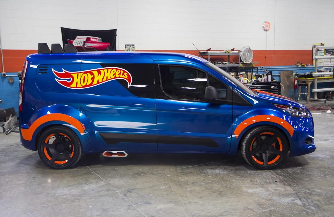 2014 Ford Transit Connect Hot Wheels Concept Arabalar