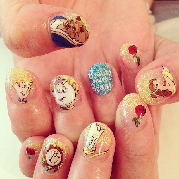 The Nail Art And Beauty Diaries: 17 Of Your Favourite Disney Characters As Nail Art