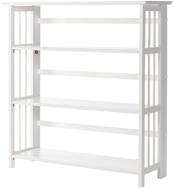 Folding Stacking Bookcase 38 H X