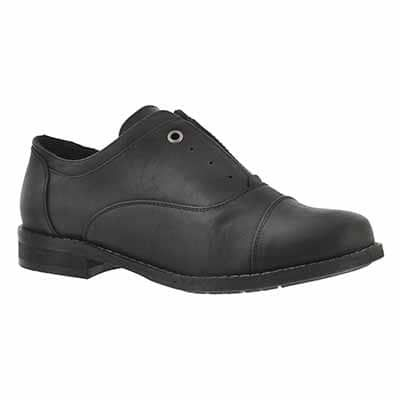 lds benicia blk laceless oxford  casual shoes shoes all
