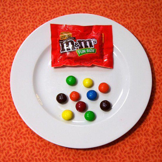 M M S Fun Size Peanut Butter M Ms Peanut Butter Best Halloween Candy