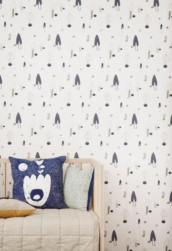 Ferm Living Kids Forest Wallpaper