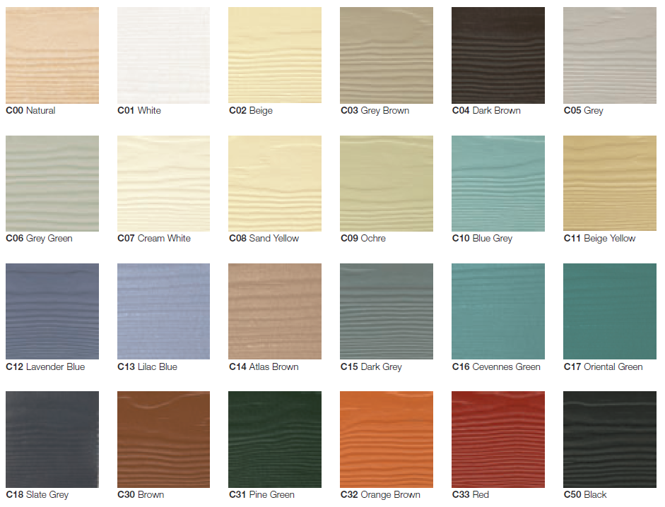 Weatherboard Cladding Colours Uk Cladding Colours