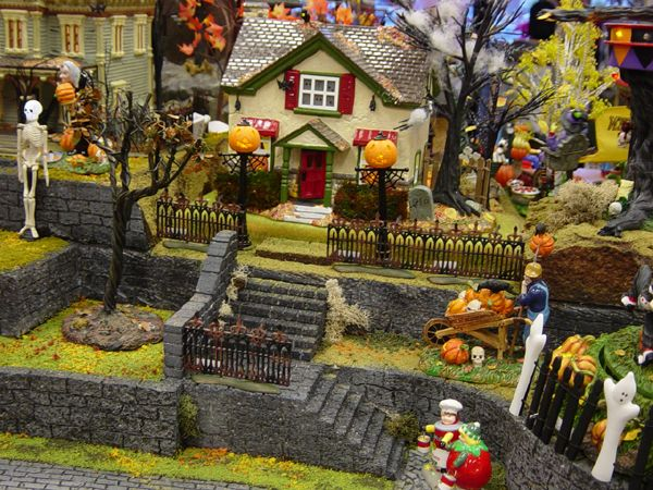 Halloween Village Displays - Hot Wire Foam Factory