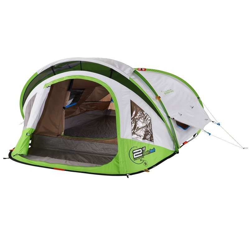 All Tents 2 Seconds Xl Fresh Illumin Ii Pop Up Tent White Green Pop Up Tent Tent Pop Up Camping Tent