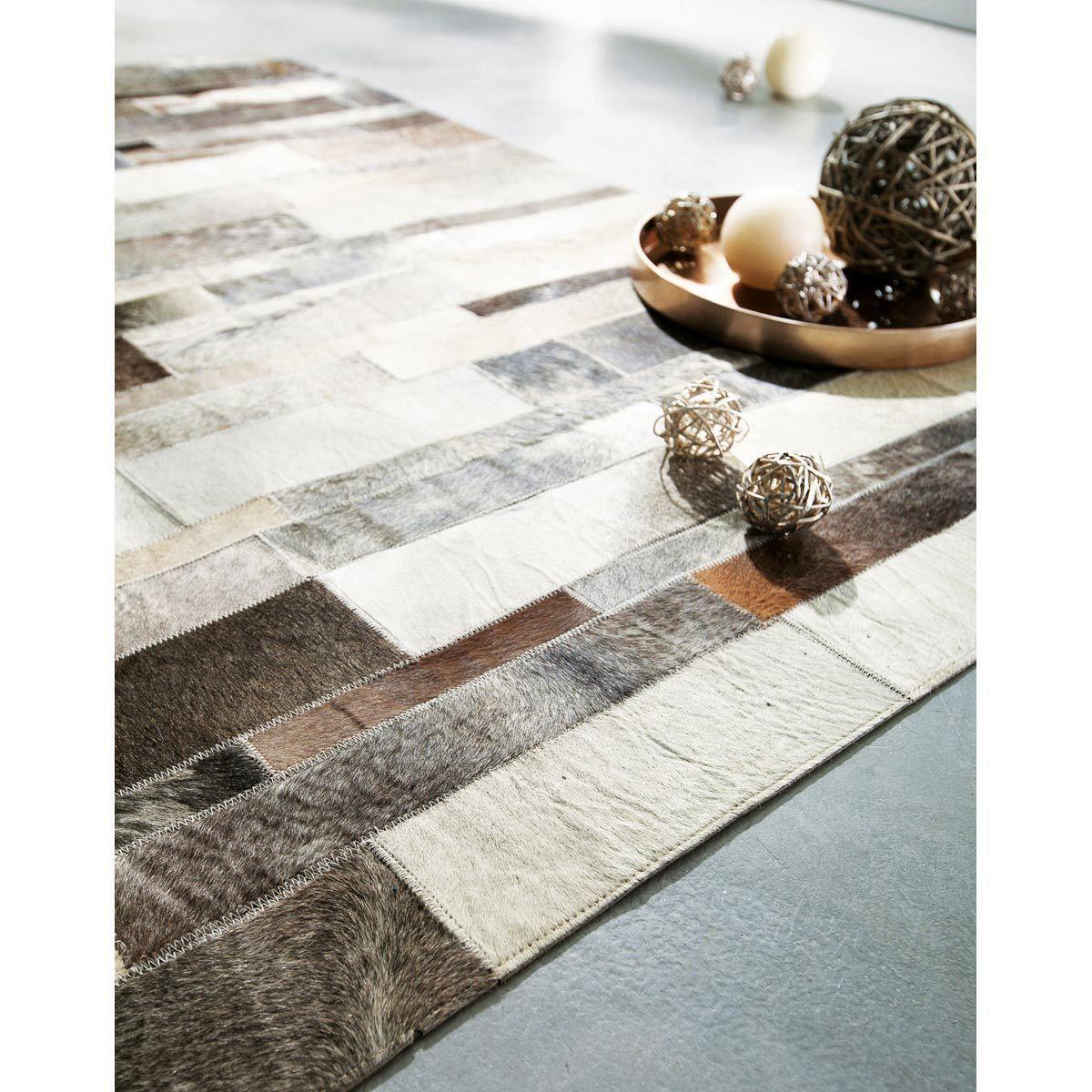 Tapis En Cuir Beige 80 X 300 Cm Mit Bildern Lederteppiche Teppich Wohnzimmer Teppich