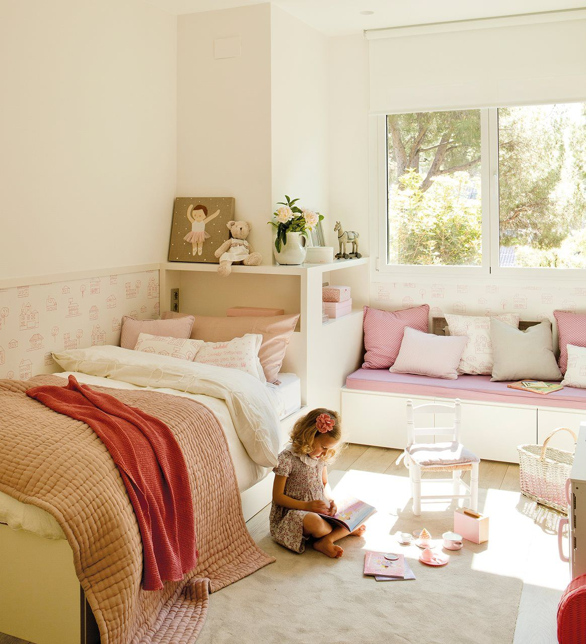 Kids room for two espacio ni o a pinterest inrichting kinderkamer en kinderkamer - Kamer paard meisje ...