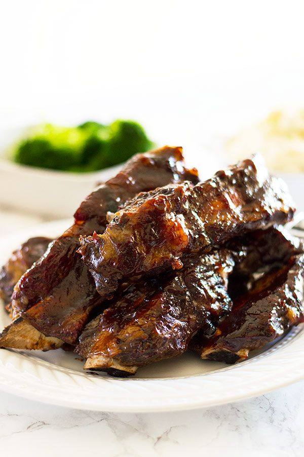 No Fuss Easy Oven Baked Beef Ribs Baked Beef Ribs Rib Recipes Oven Baked Beef Ribs