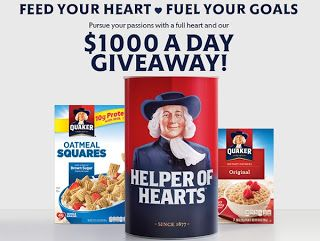 Quaker oats sweepstakes 2018 election