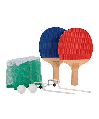 Table Tennis Game Set Zulily Zulilyfinds Table Tennis Game Table Tennis Set Table Tennis