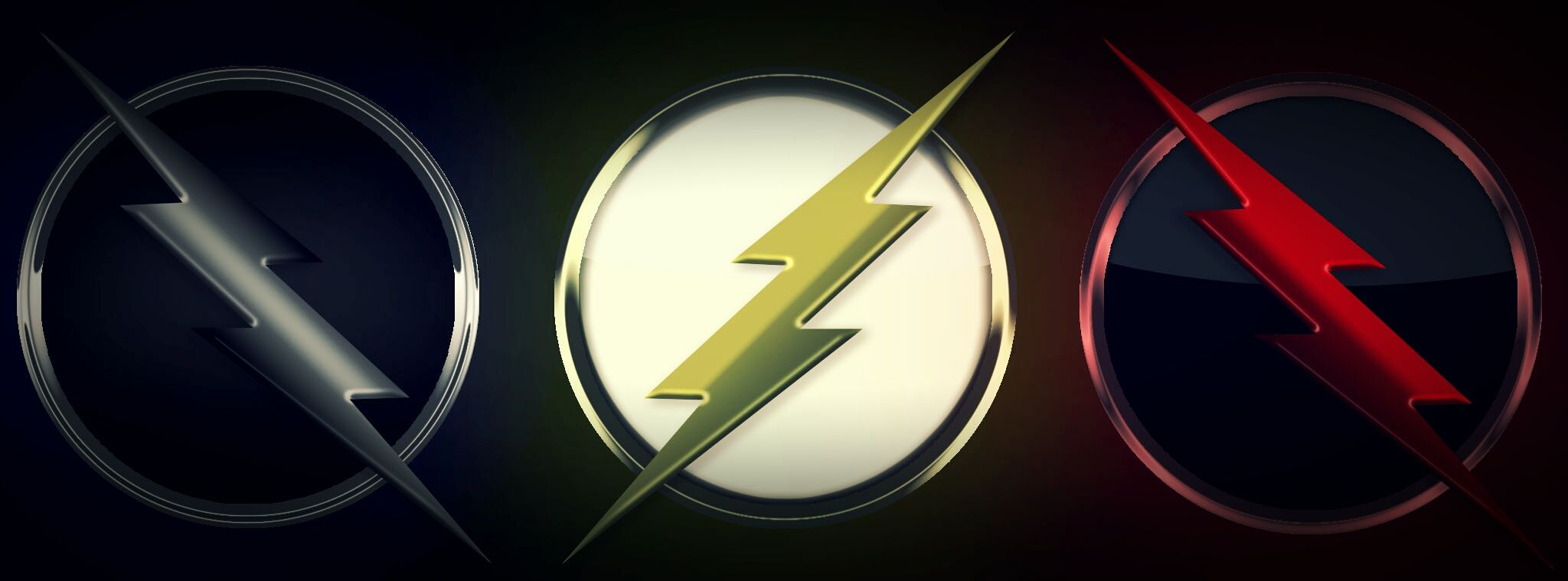 speedsters logo flash reverse flash and zoom good stuff